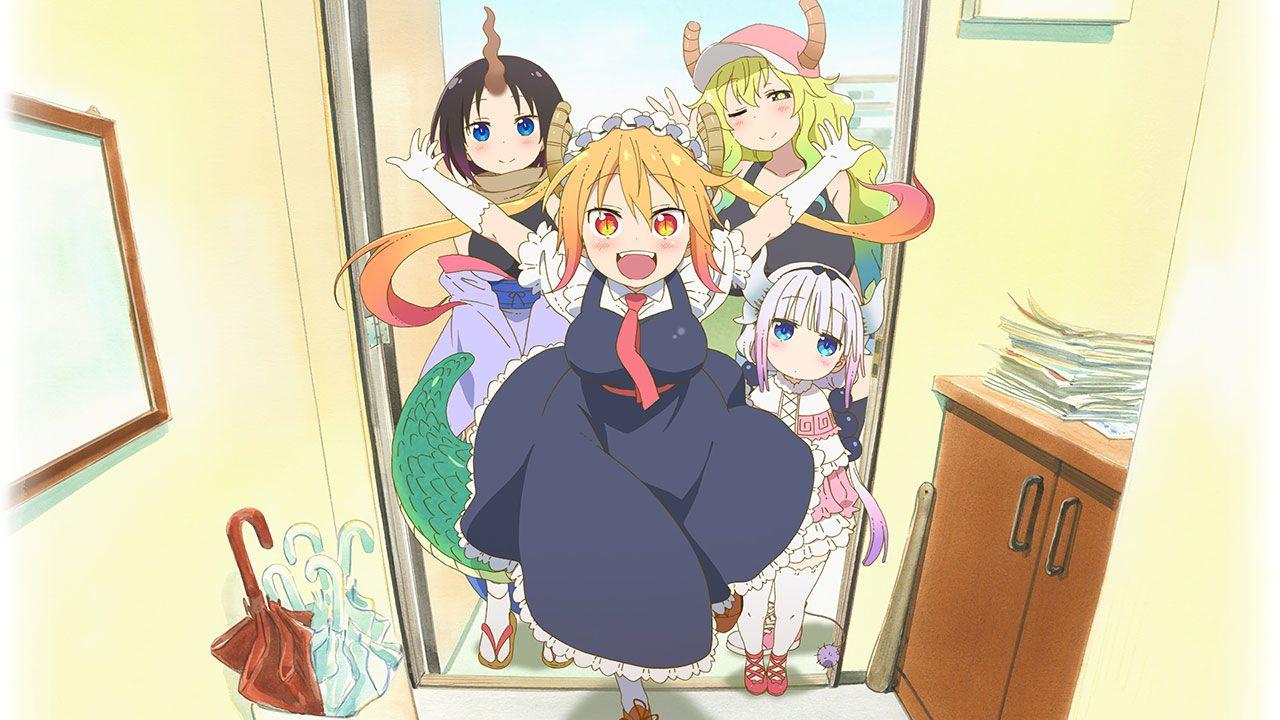 Cover image of Kobayashi-san Chi no Maid Dragon