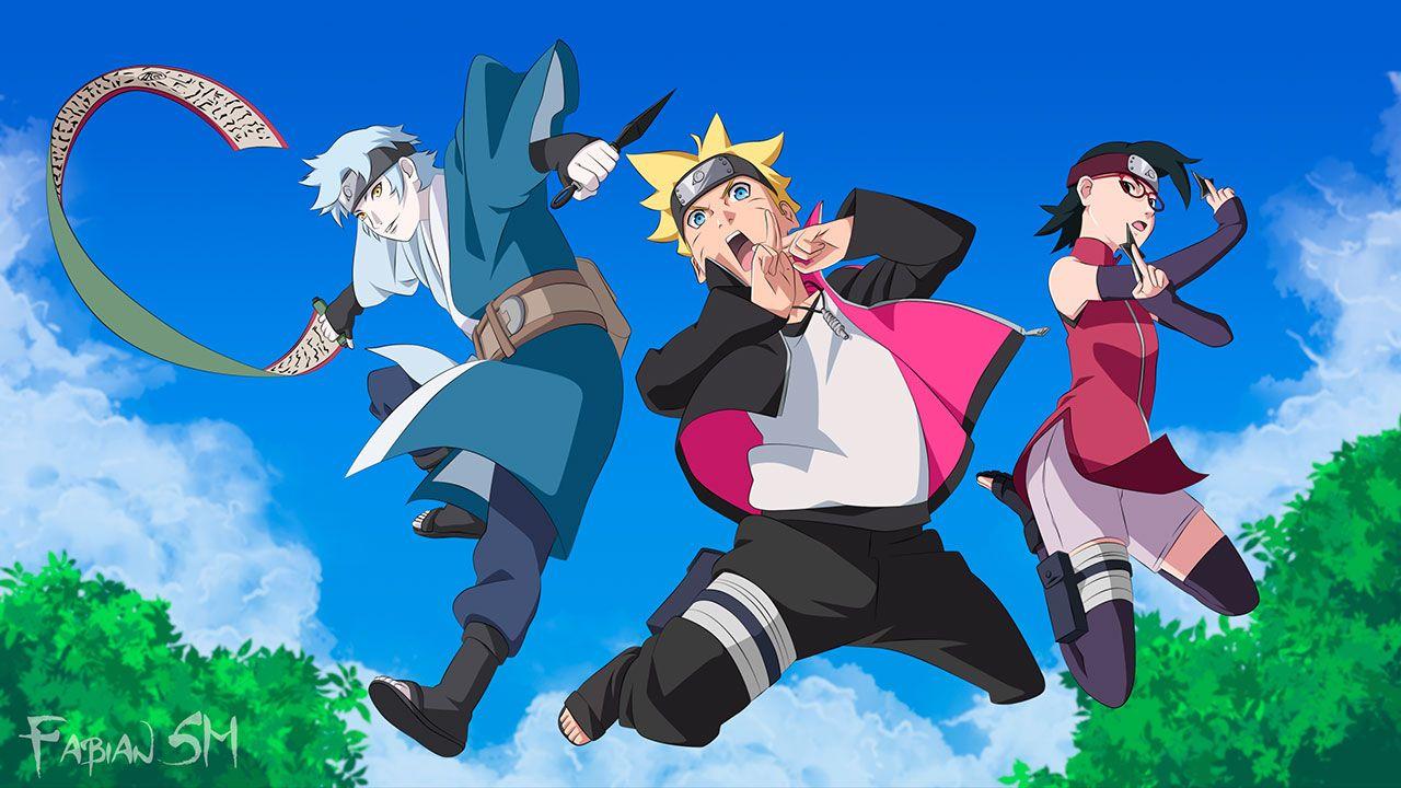 Cover image of Boruto: Naruto Next Generations