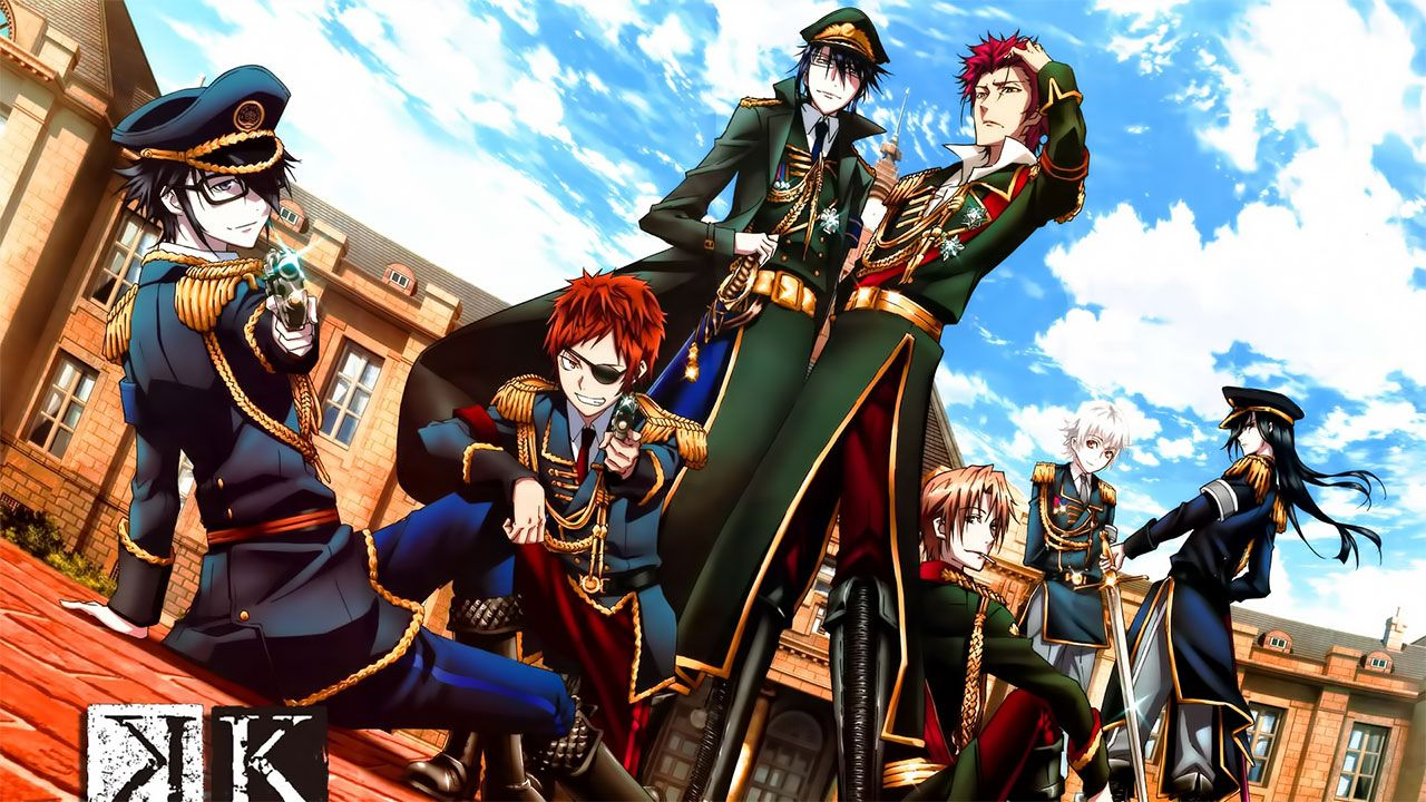Cover image of K: Return of Kings