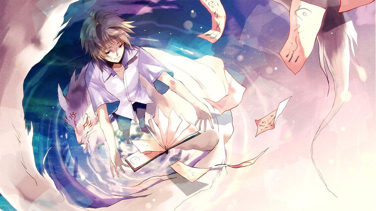 Cover image of Natsume Yuujinchou Go
