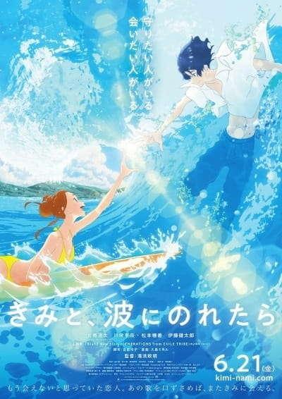 Poster of Kimi to, Nami ni Noretara