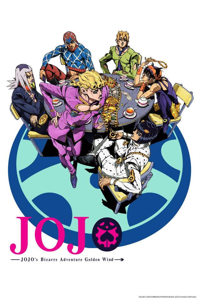 Poster of JoJo no Kimyou na Bouken Part 5: Ougon no Kaze