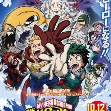 Poster of Boku no Hero Academia 4th Season
