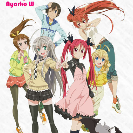 Poster of Haiyore! Nyaruko-san W