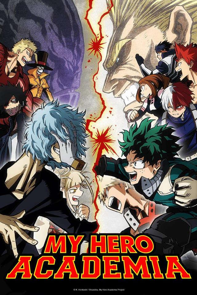 Poster of Boku no Hero Academia 3rd Season