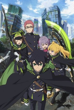Poster of Owari no Seraph: The Beginning of the End
