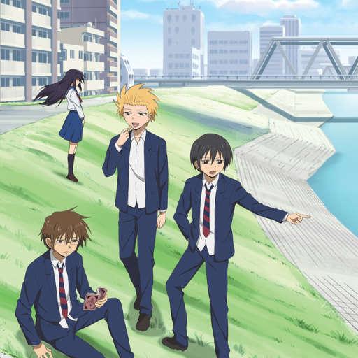 Poster of Danshi Koukousei no Nichijou