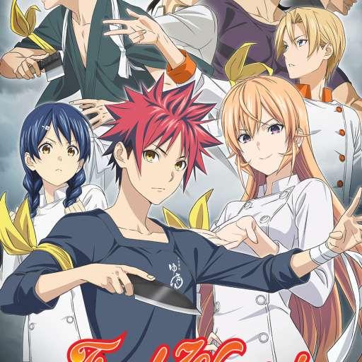 Poster of Shokugeki no Souma: Shin no Sara