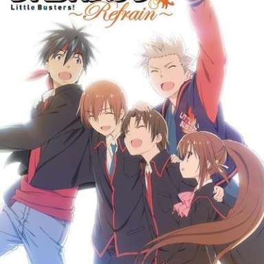 Poster of Little Busters!: Refrain