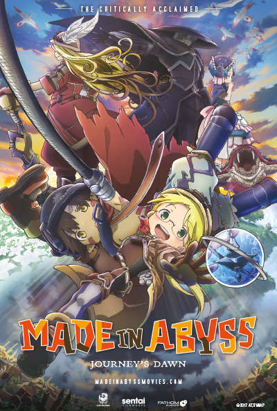Poster of Made in Abyss Movie 1: Tabidachi no Yoake