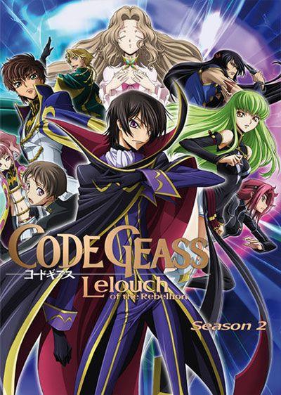 Code Geass: Hangyaku no Lelouch R2 Ep. 1-25 [Completed ...