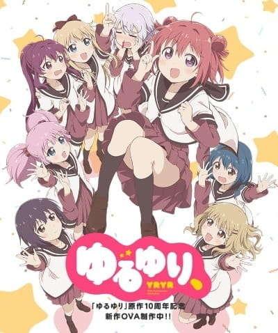 Poster of Yuru Yuri,