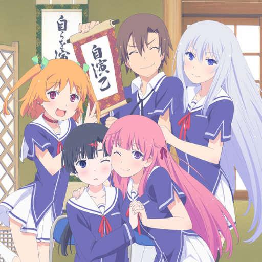 Poster of Ore no Kanojo to Osananajimi ga Shuraba Sugiru