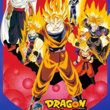 Poster of Dragon Ball Z Movie 08: Moetsukiro!! Nessen, Ressen, Chougekisen