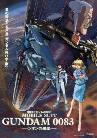 Poster of Mobile Suit Gundam 0083: The Fading Light of Zeon
