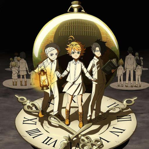 Poster of Yakusoku no Neverland