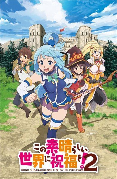 Poster of Kono Subarashii Sekai ni Shukufuku wo! 2
