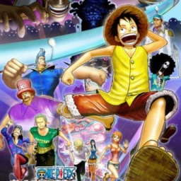 Poster of One Piece 3D: Gekisou! Trap Coaster