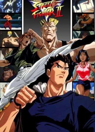 Poster of Street Fighter II V