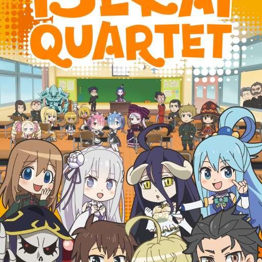 Poster of Isekai Quartet