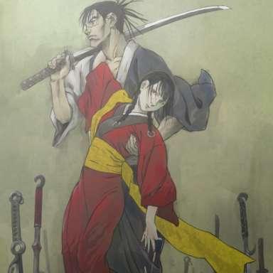 Poster of Mugen no Juunin: Immortal