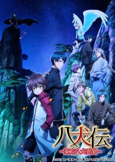 Poster of Hakkenden: Touhou Hakken Ibun 2nd Season