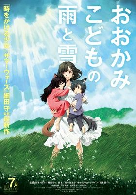 Poster of Ookami Kodomo no Ame to Yuki