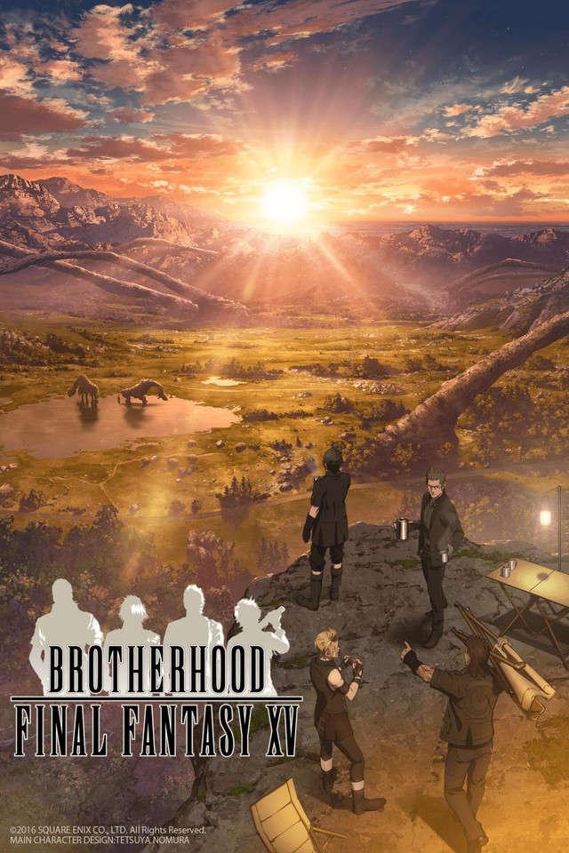 Poster of Brotherhood: Final Fantasy XV