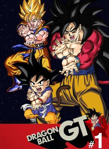 Poster of Dragon Ball GT