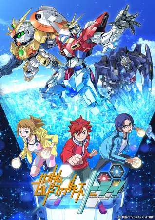 Poster of Gundam Build Fighters Try
