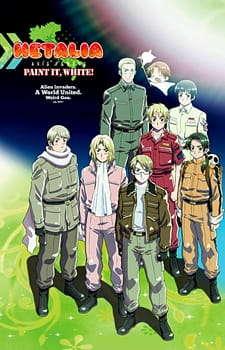 Poster of Hetalia Axis Powers Movie: Paint it, White